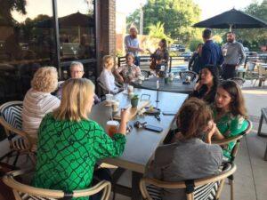 FPRA Members at Coffee Social