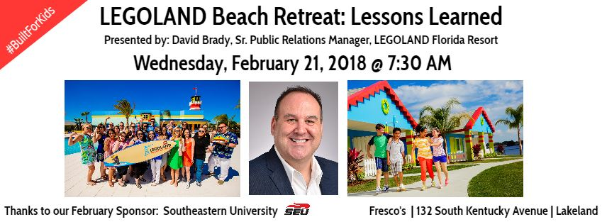 LEGOLAND Beach Retreat: Lessons Learned