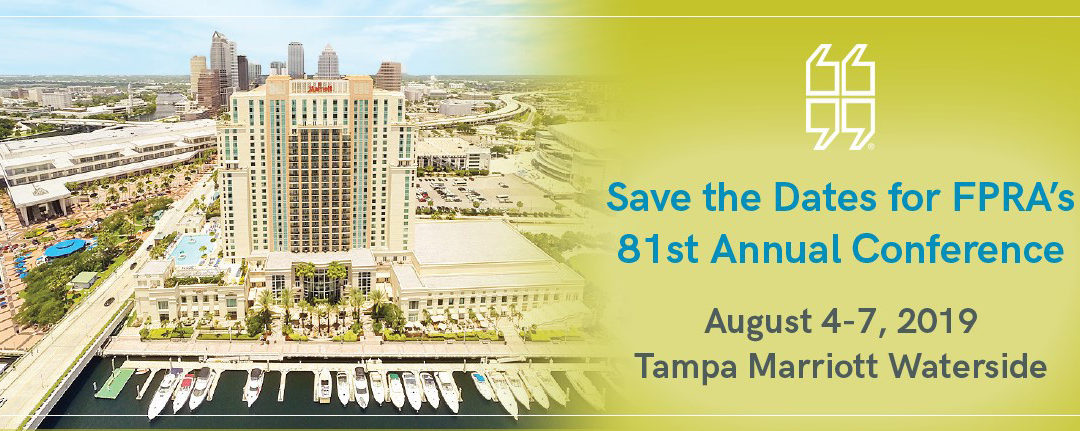Apply for a FPRA Annual Conference Scholarship