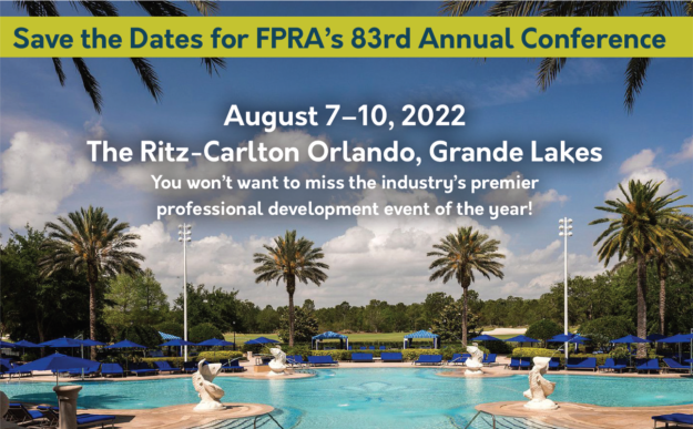 FPRA Annual Conference 2022 Save the Date announcement image